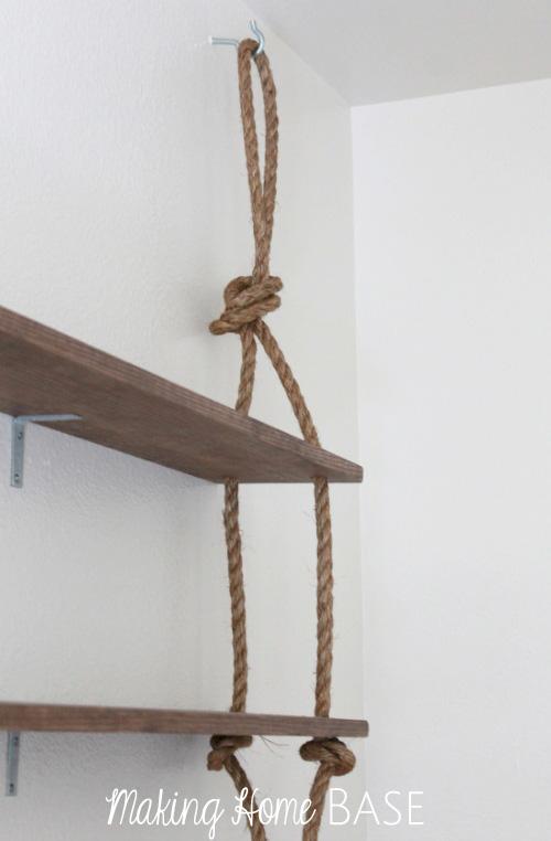 cuerdas para estantes