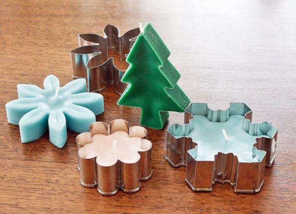 Velas decorativas para navidad 2016 manualidades for Como hacer velas decorativas