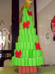 Decoración de Navidad con Materiales Reciclados