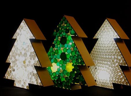 Arbol De Navidad Reciclado De 50 Ideas De Arboles De Navidad Con - Manualidad-arbol-navidad