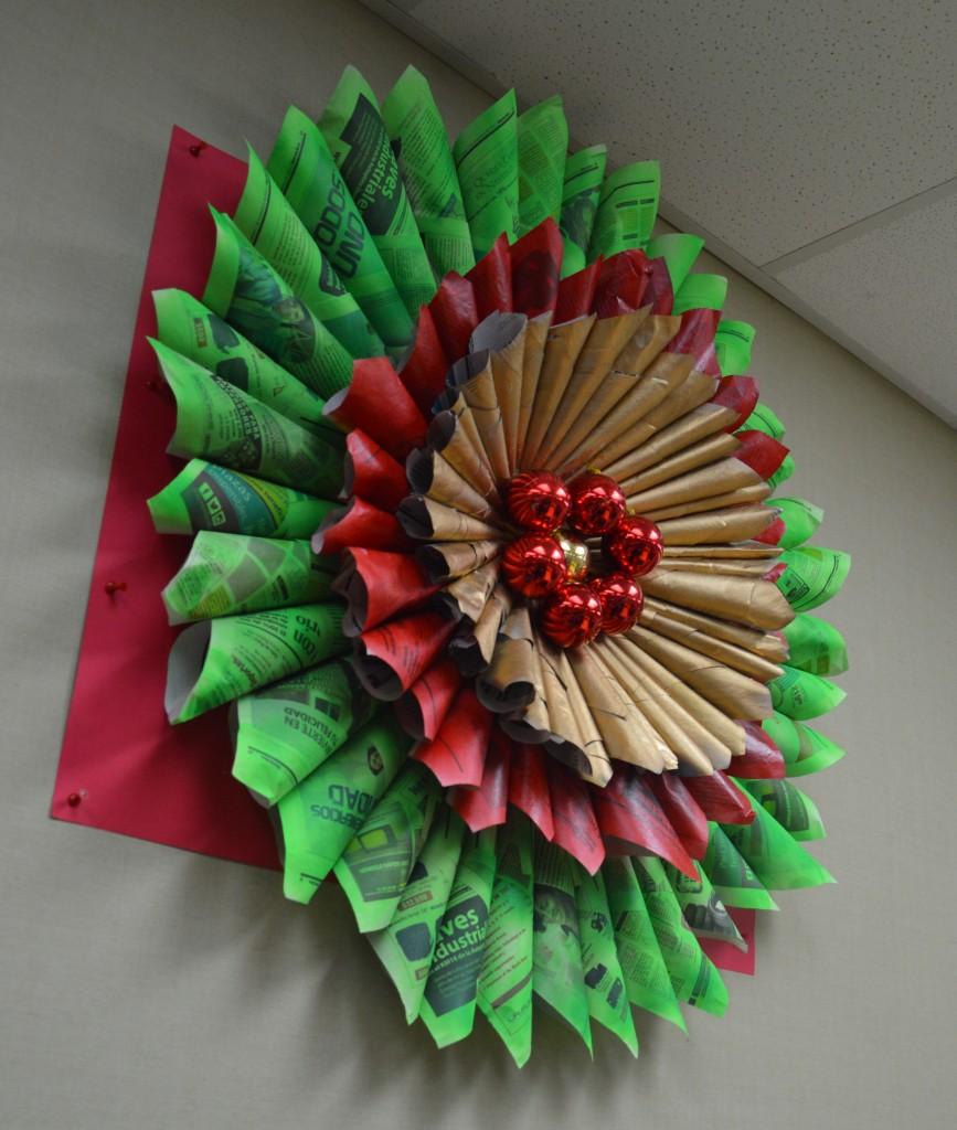Decoracion navidad reciclada manualidades - Adornos navidad reciclados para ninos ...