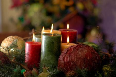 navidad velas