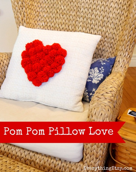 Pom-Pom-Pillow-Love