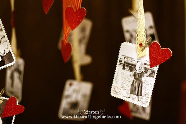 candelabro papel dia enamorados