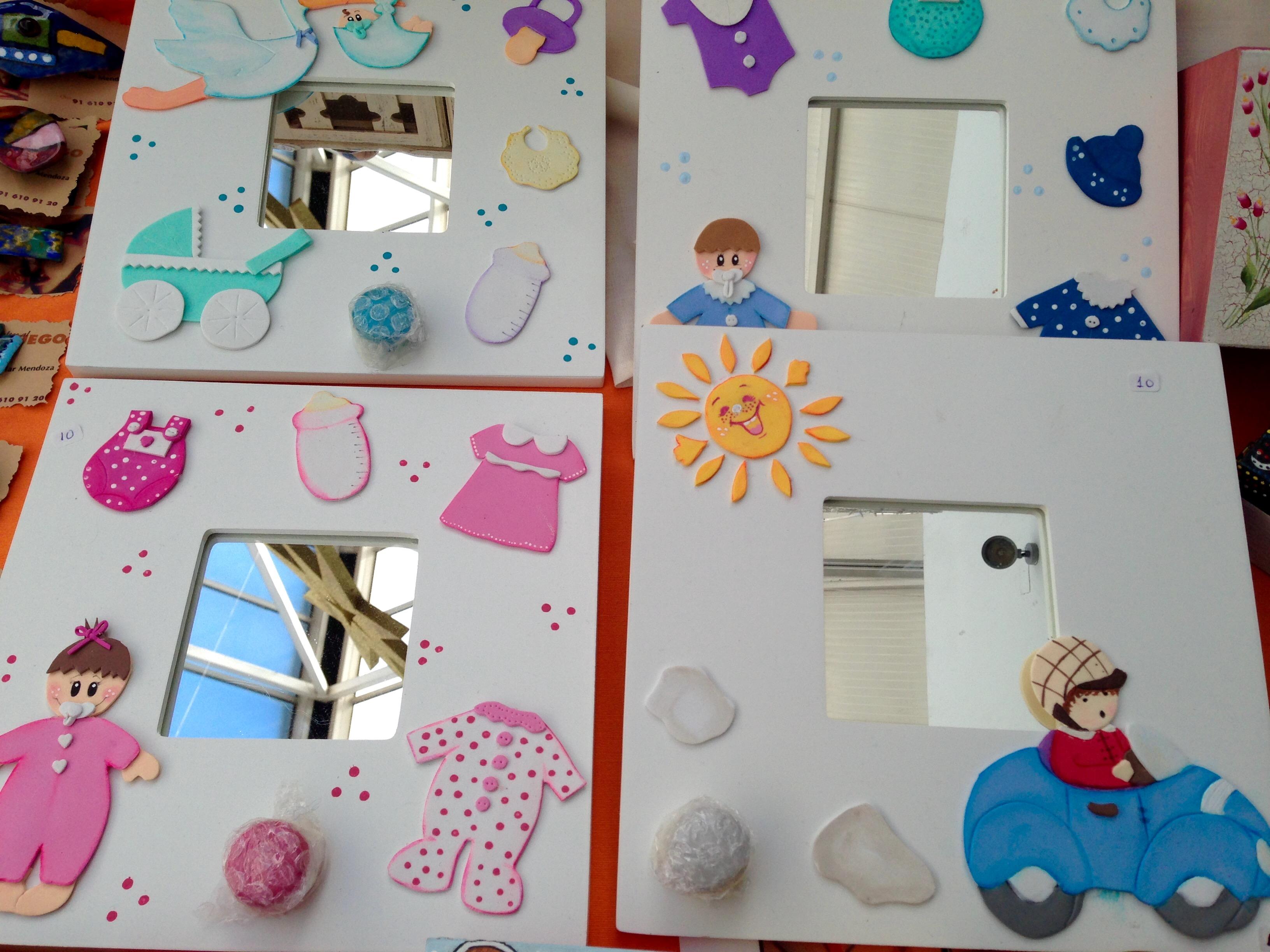 Manualidades para el dia del padre com goma eva marcos de - Manualidades infantiles de goma eva ...