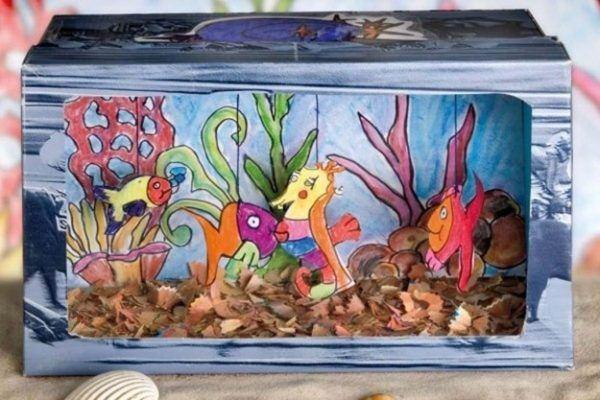 Como Hacer Un Acuario Casero Con Material Reciclable Compartir Materiales