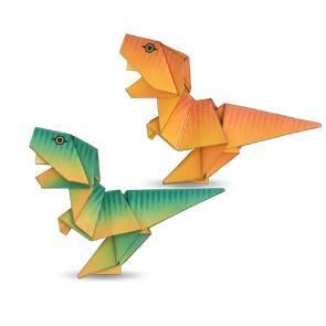 tiranosaurio origami