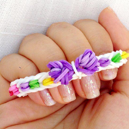 diseños con pulsera de goma