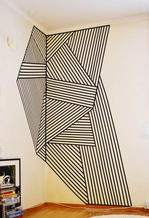 Manualidades para decorar las paredes manualidades - Mezclar colores para pintar paredes ...