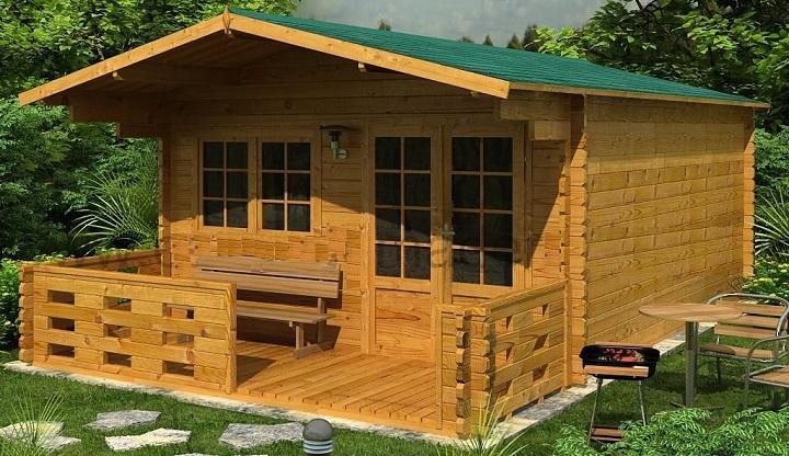 C mo construir una caba a manualidades for Cabanas infantiles en madera
