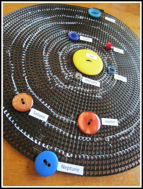 sistema solar manualidad