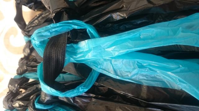 falda plastico
