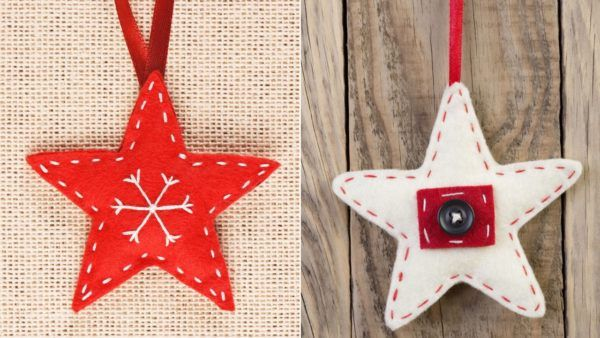 Adornos de fieltro para decorar tu casas estas navidades - Arbol de navidad de fieltro ...