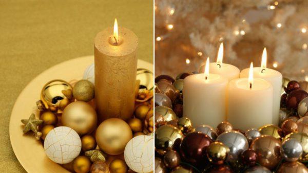 Velas decorativas para navidad 2016 manualidades - Velas de navidad decoradas ...