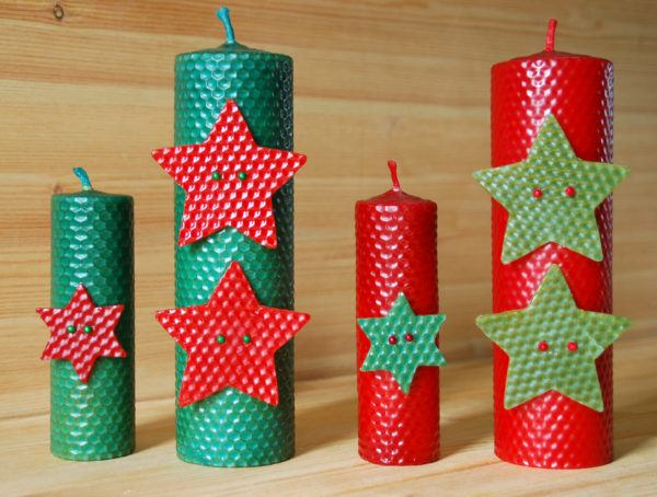 Velas decorativas para navidad 2016 manualidades - Decorativos de navidad ...