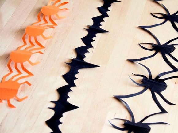 manualidades,halloween,guirnalda,halloween