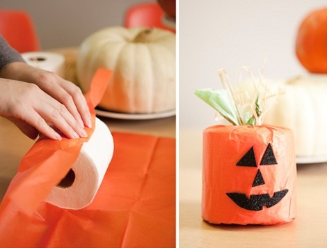 Manualidades Halloween Calabazas para niños