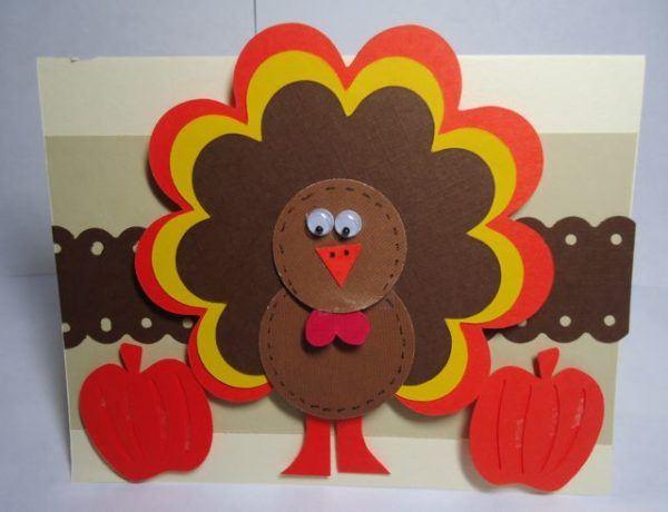 Postales Del Dia Del Pavo >> Tarjetas de Accion de Gracias hechas a mano - Thanksgiving Day 2016 - Manualidades