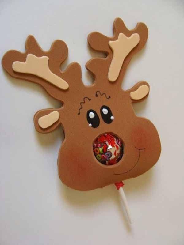 decoracion-de-navidad-en-foami-reno