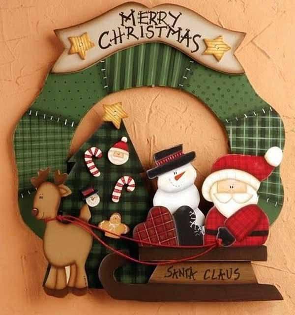 decoracion-de-navidad-en-foami-trineo