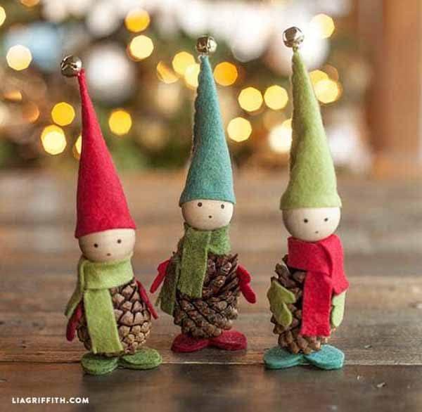 decoracion-navidad-reciclaje-pinas