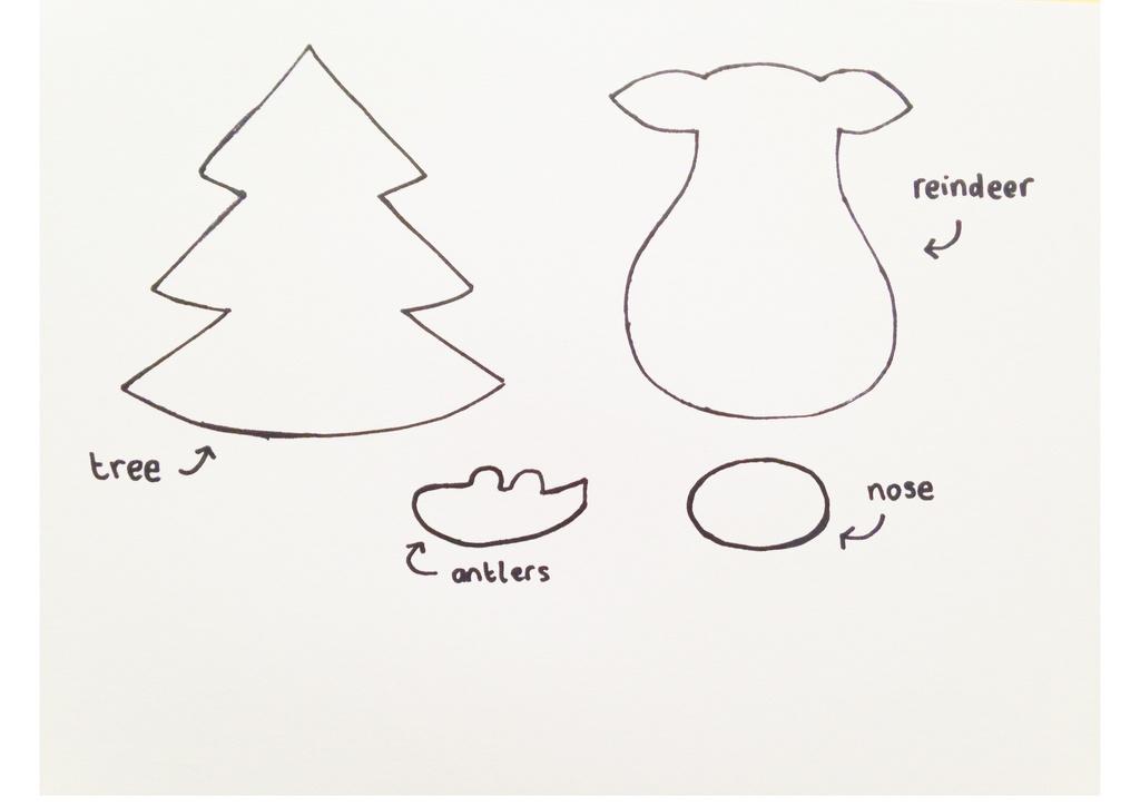 Patrones Dibujos De Navidad En Foami.Adornos De Navidad De Fieltro 2019 Manualidades Es