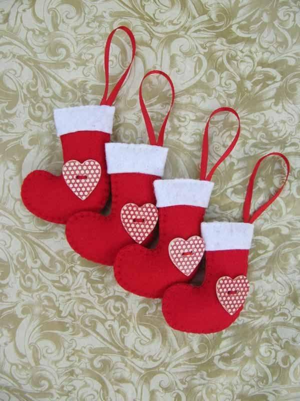 calcetines-de-navidad-color-rojo