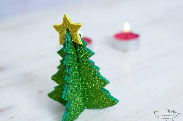 Adornos de navidad con goma eva 2016 manualidades for Como hacer un arbol de navidad original