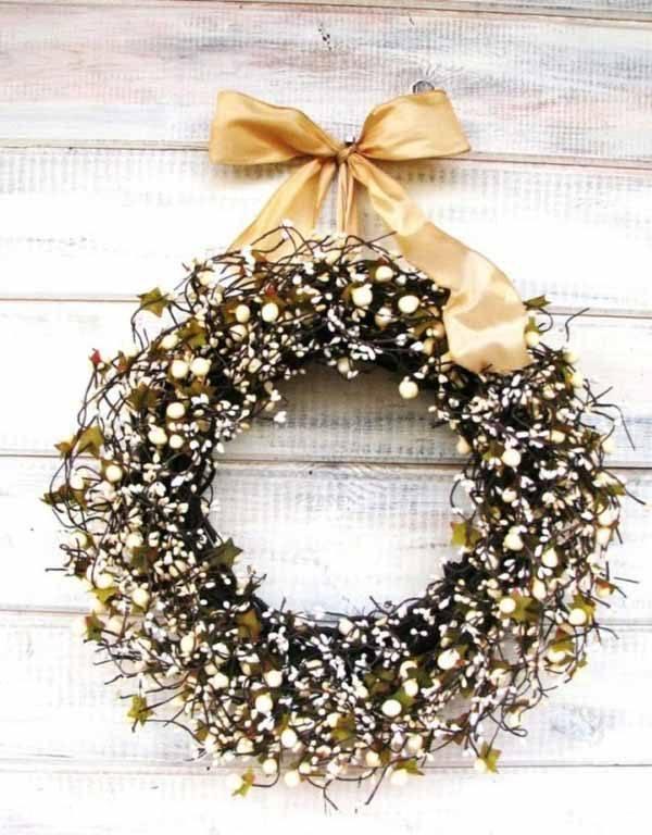 coronas-de-navidad-lazo-dorado