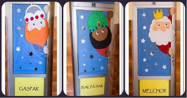 decoracion-de-navidad-para-puertas-reyes-magos