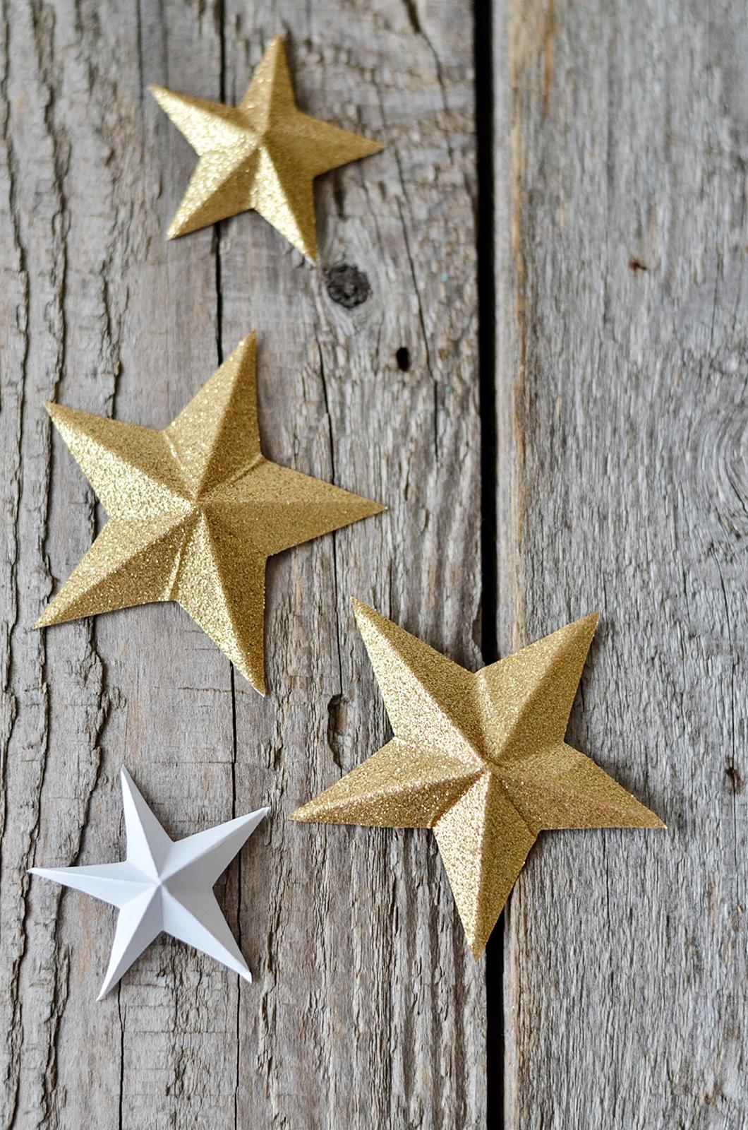 C mo hacer estrellas de papel manualidades - Estrellas de papel ...