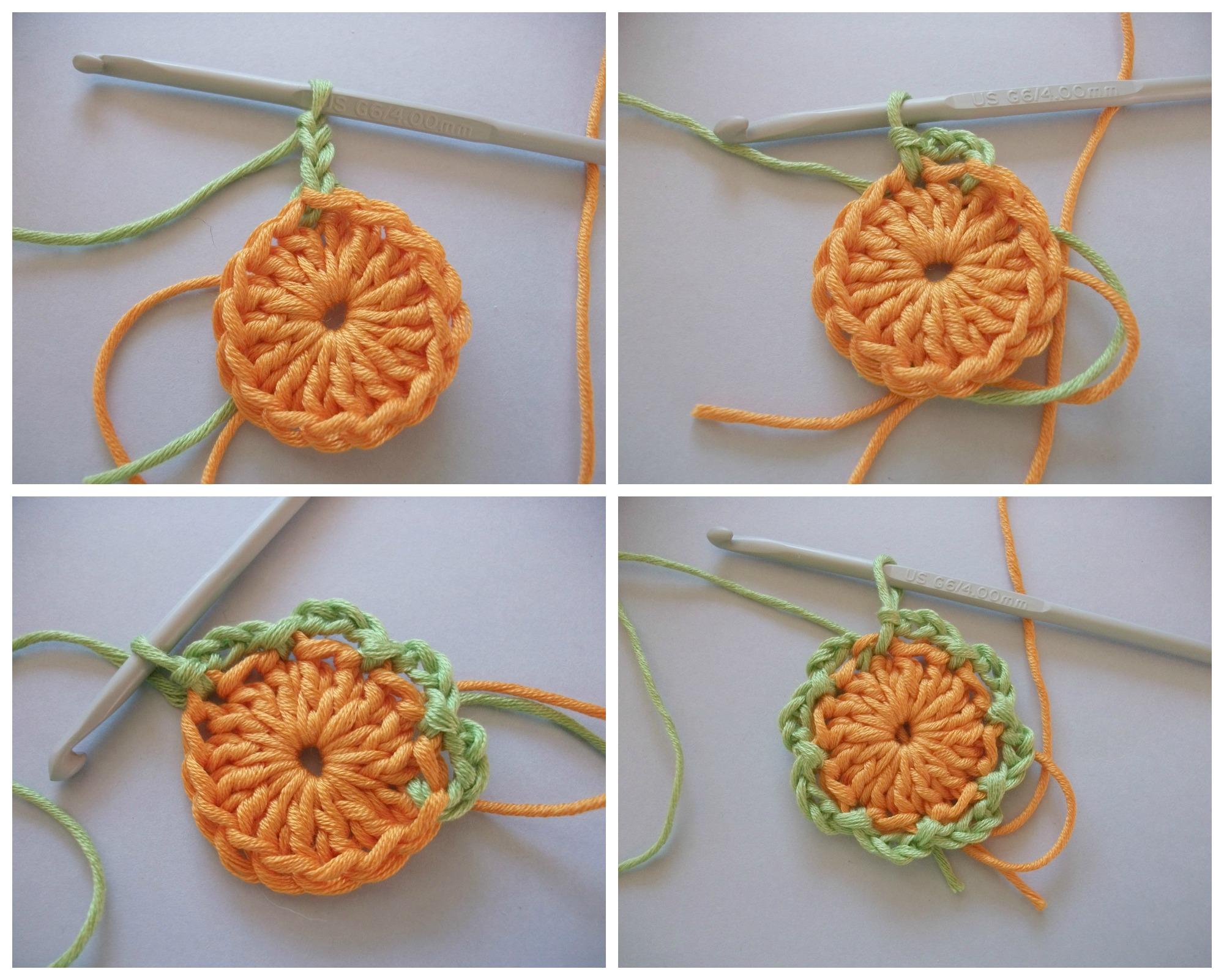 Como hacer flores de ganchillo paso a paso manualidades - Como hacer flores de ganchillo ...