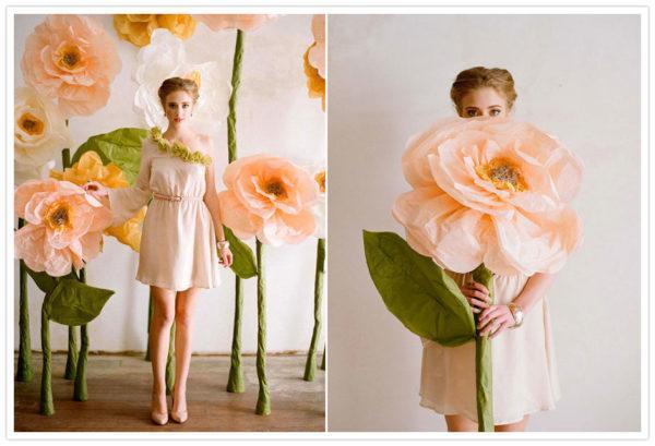 Como Hacer Flores De Papel De Seda Manualidades - Hacer-flores-con-papel