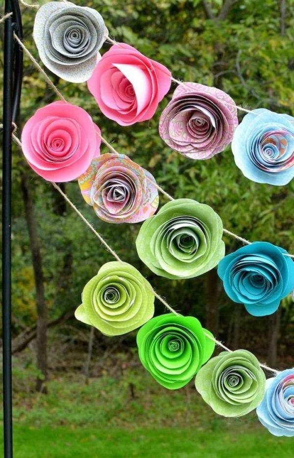 Como Hacer Flores De Papel Paso A Paso Manualidades