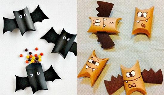 manualidades-de-halloween-con-rollos-de-papel-higienico-murcielagos-sorpresa