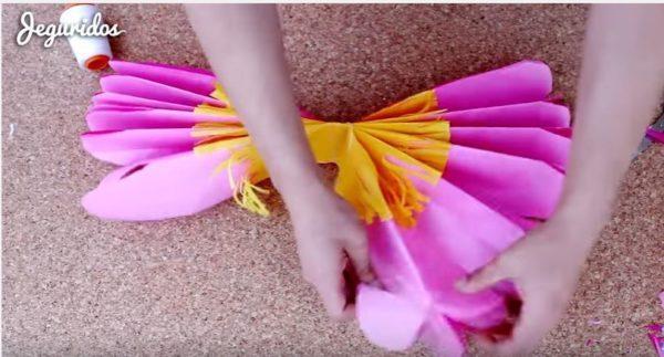 Como Hacer Flores De Papel De Seda Manualidades