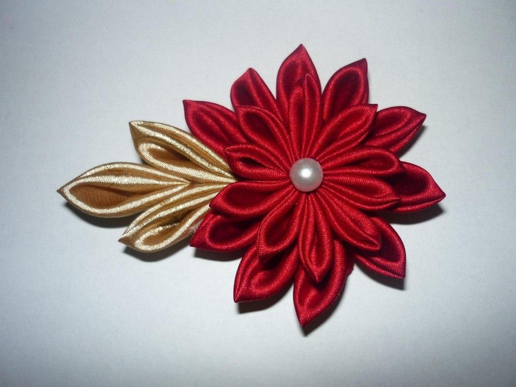 C mo hacer flores de tela manualidades - Flores de telas hechas a mano ...