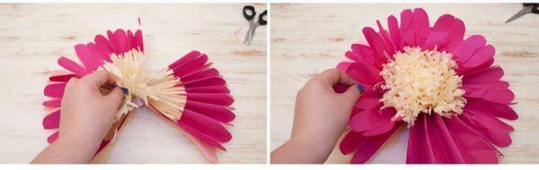Cómo Hacer Flores De Papel Paso A Paso Manualidades