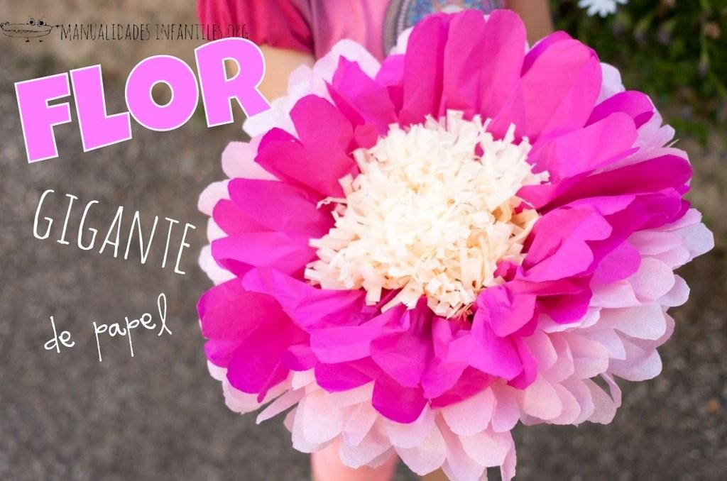 Cómo Hacer Flores De Papel Paso A Paso Manualidadeses