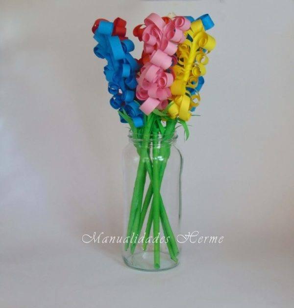 Cómo hacer flores de papel paso a paso - Manualidades