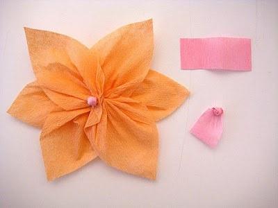 Como Hacer Flores De Papel Crepe Manualidades
