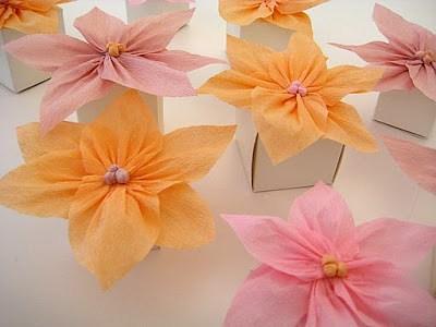 Como Hacer Flores De Papel Crepe Manualidades - Hacer-flores-con-papel