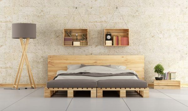 Manualidades con materiales reciclados para adultos palets cama