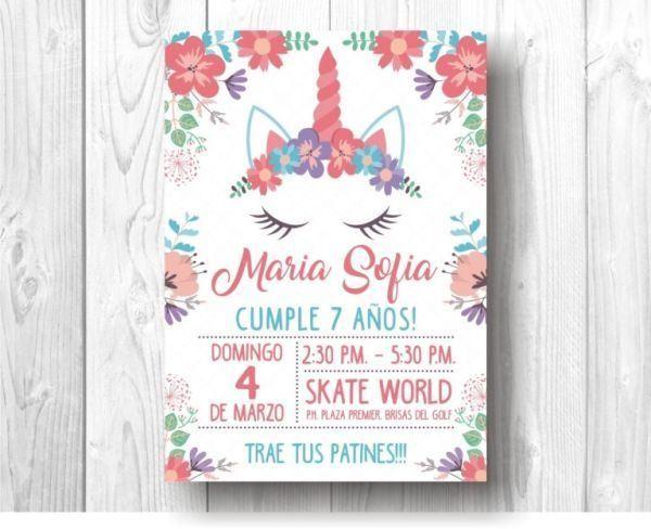 Diseños De Invitaciones De Cumpleaños Para Niños Y Niñas