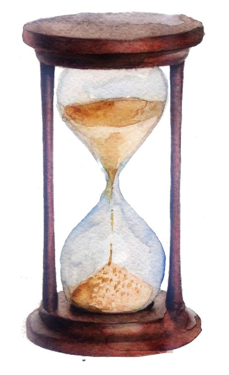 Cómo hacer un reloj de arena con cartón
