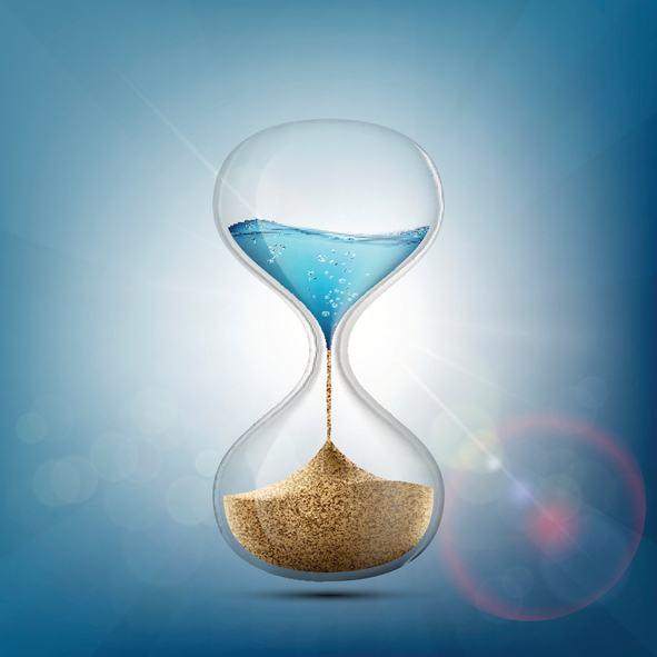Cómo hacer un reloj de arena de cristal