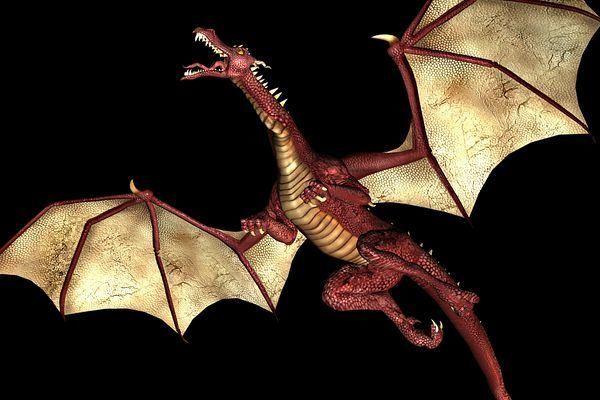 como-hacer-un-dragon-de-papel-dragon-rojo