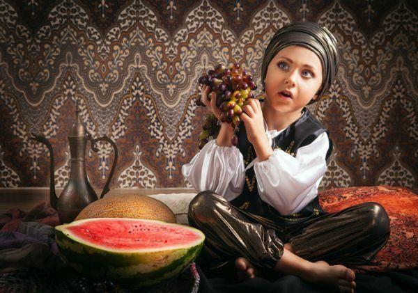 como-hacer-un--turbante-para-bebes-nino-turbante-fruta