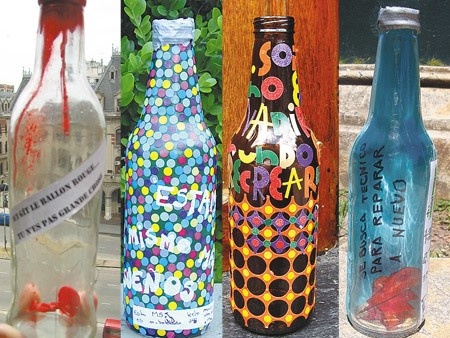 Reciclaje Ideas Para Decorar Botellas De Cristal O De Vidrio - Decorar-botellas