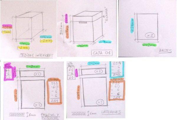 Cómo Hacer Cajas De Cartón A Medida Paso A Paso Manualidades